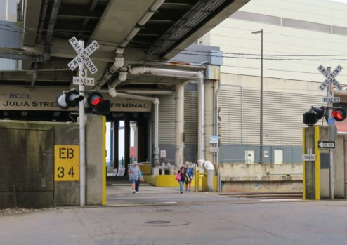 Walk to Julia Street Station Cruise Terminal New Orleans