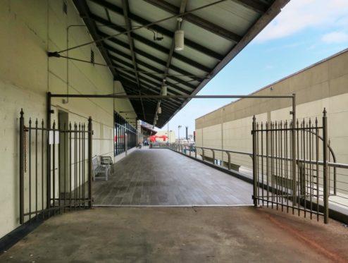 Walkway Gates Riverwalk New Orleans
