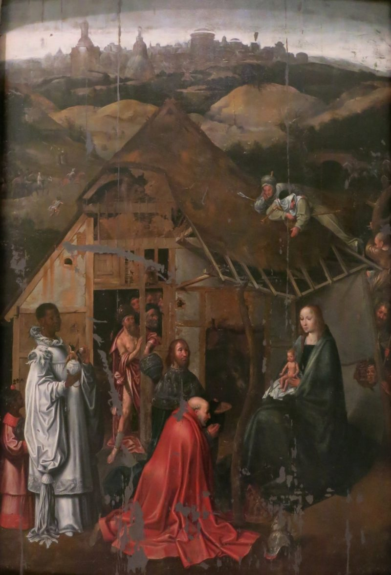 Adoration of the Magi After Hieronymus Bosch Musee Calvet Avignon France