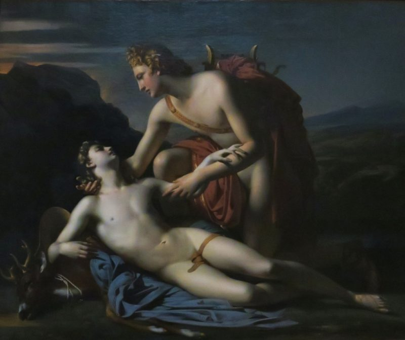 Apollo and Cyparissus by Dubufe Musee Calvet Avignon France