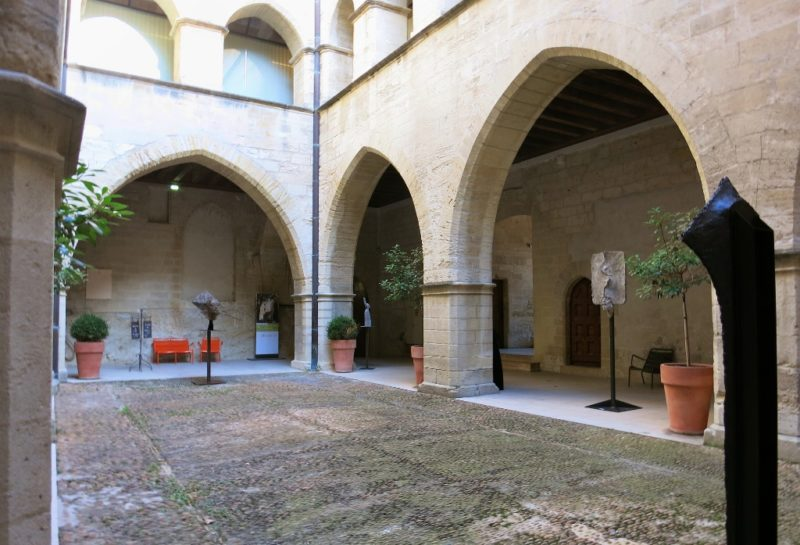 Courtyard Musee du Petit Palais Avignon France