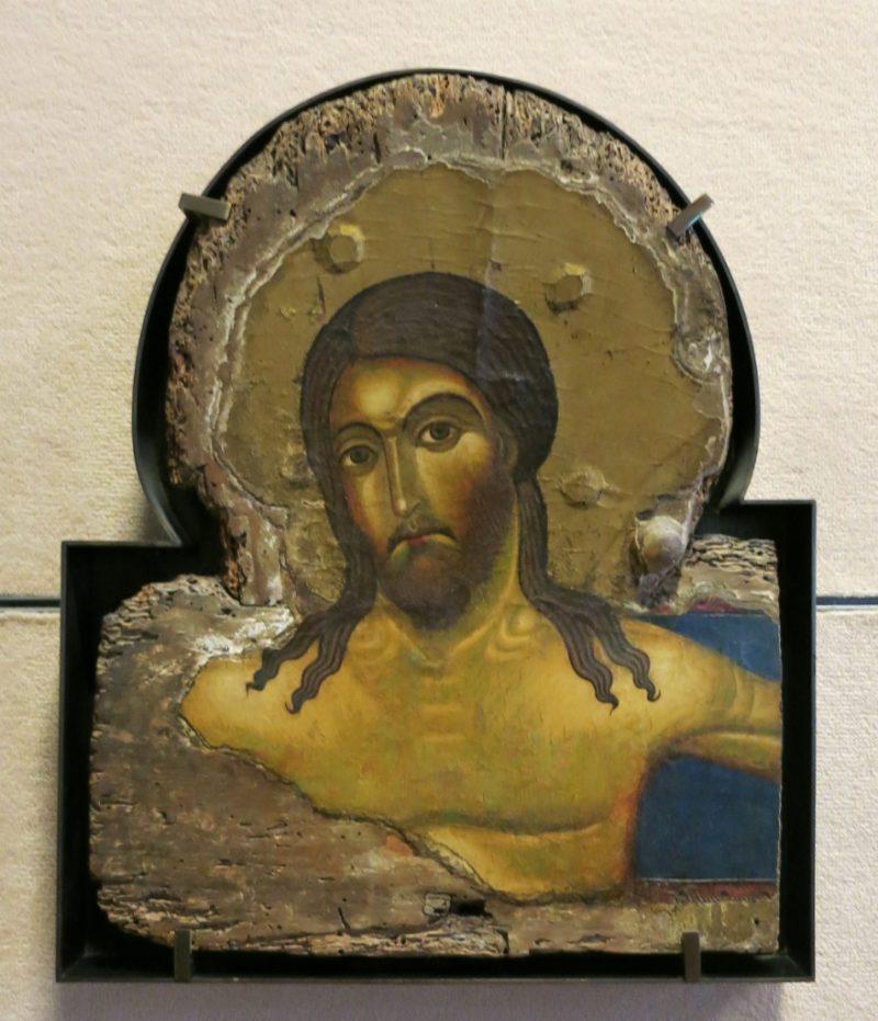 Crucifix Fragment Musee du Petit Palais Avignon France