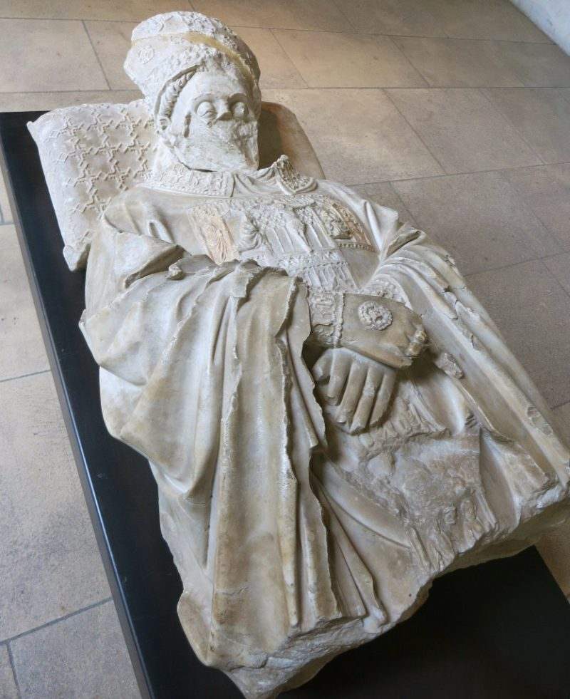Effigy of Cardinal La Grange Musee du Petit Palais Avignon France