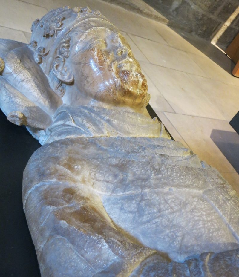 Effigy of Pope Urban V Musee du Petit Palais Avignon France