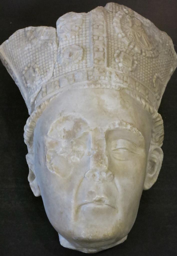 Head of Cardinal Musee du Petit Palais Avignon France