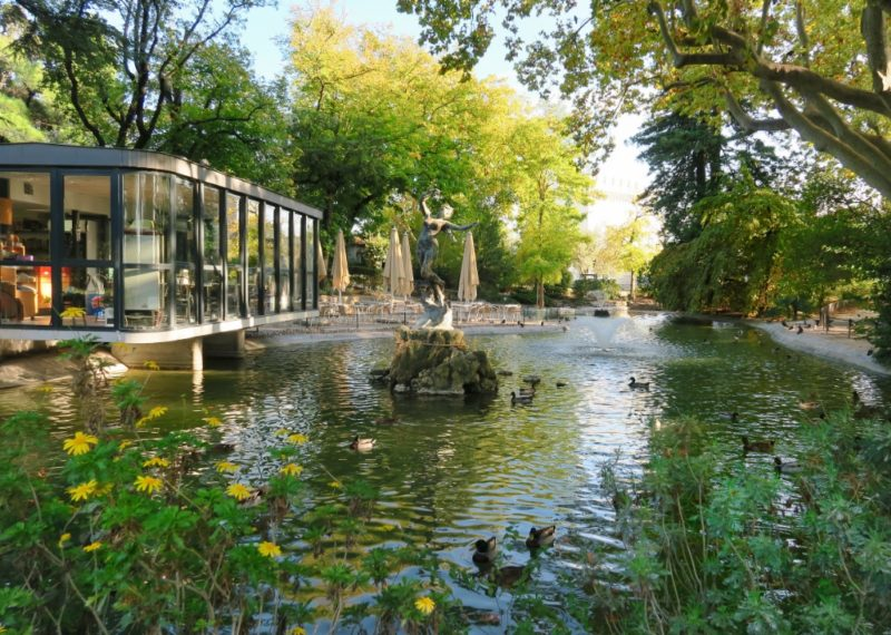 Pond Rocher des Doms Avignon France