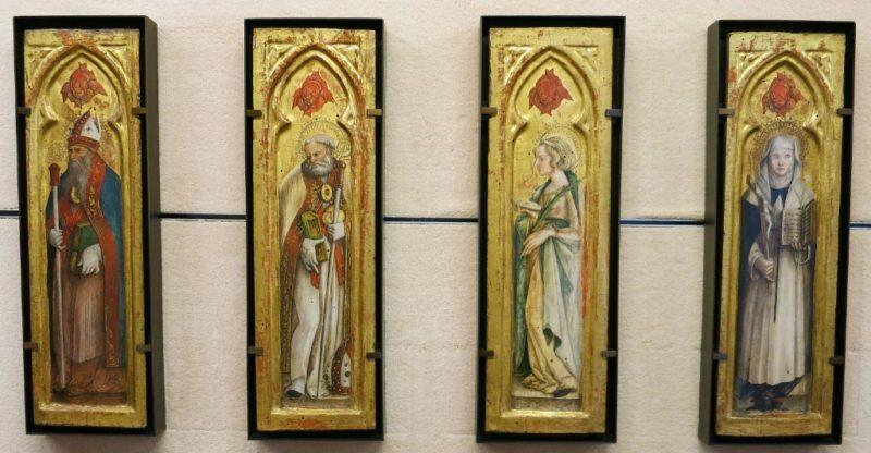 Saints Augustine Nicholas Lucy and Catherine Musee du Petit Palais Avignon France