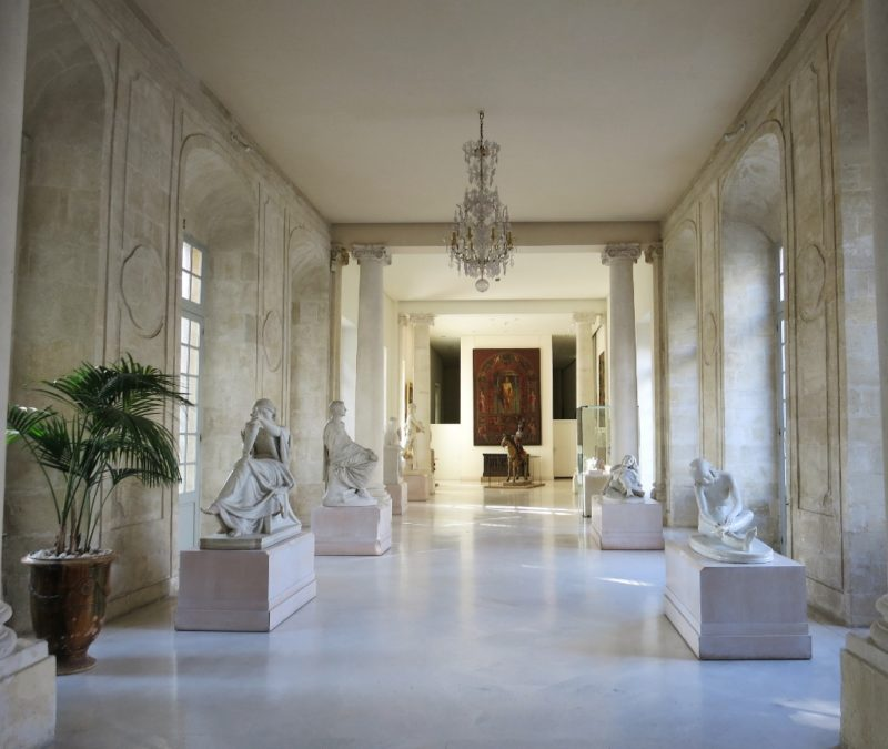Sculpture Gallery Musee Calvet Avignon France