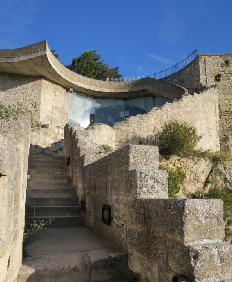 Steps to Park Rocher des Doms Avignon France