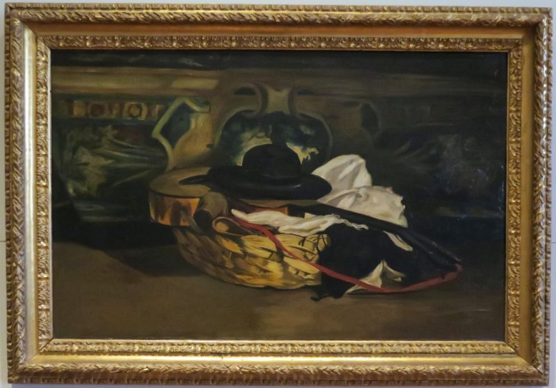Still Life with Guitar and Hat by Edouard Manet Musee Calvet Avignon France