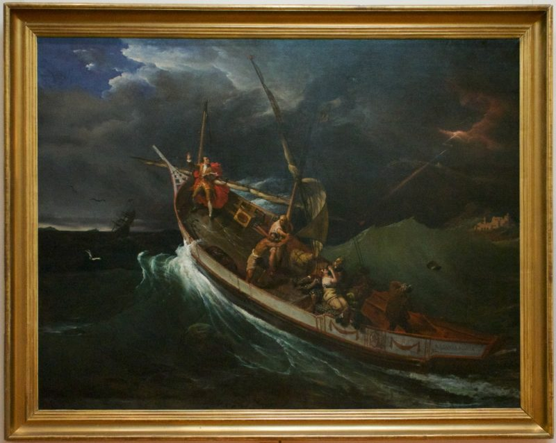 Studying the Effects of the Storm by Horace Vernet Musee Calvet Avignon France