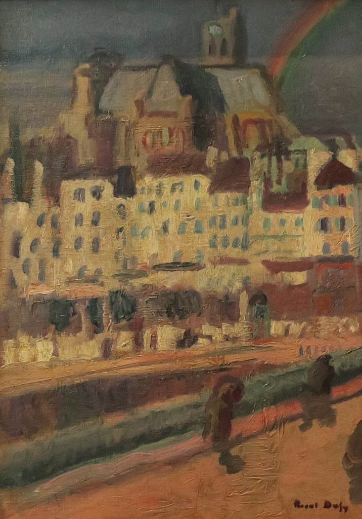 The Church of Saint Gervais by Dufy Musee Calvet Avignon France
