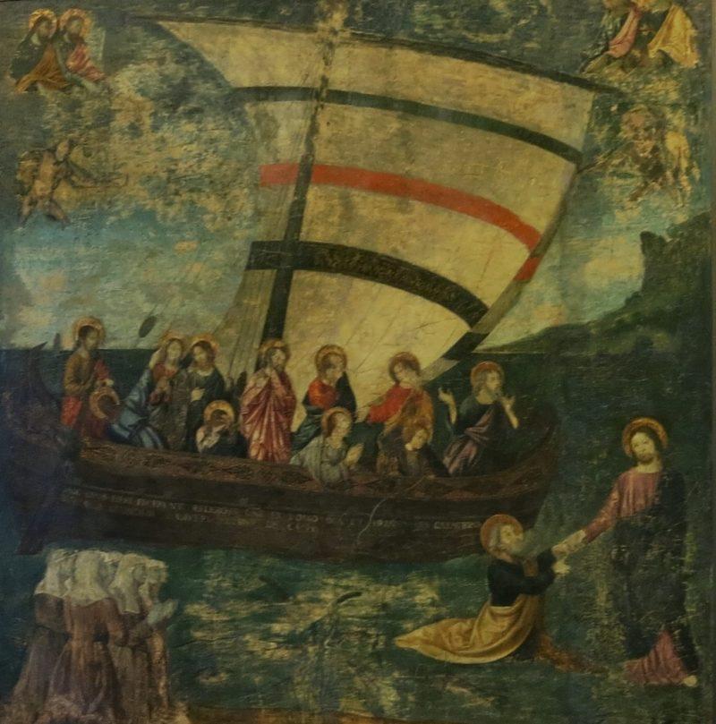 The Navicella after Giotto Musee du Petit Palais Avignon France
