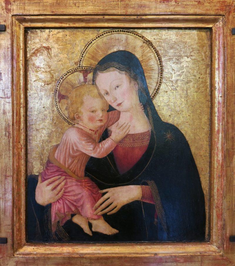 Virgin and Child by Caporali Musee du Petit Palais Avignon France