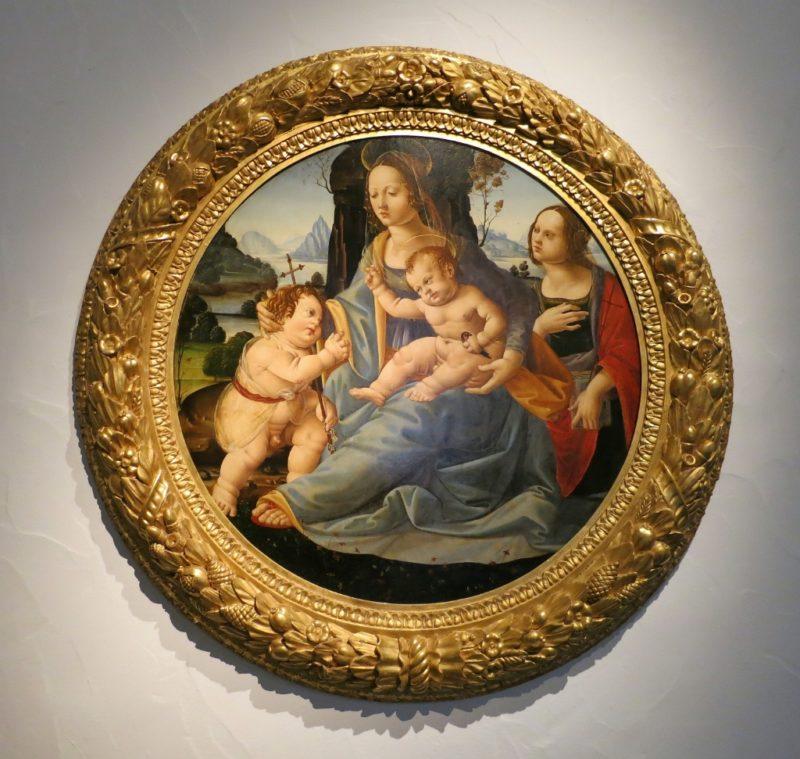 Virgin and Child with Saints John and Margaret Musee du Petit Palais Avignon France