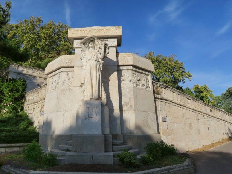 War Memorial Rocher des Doms Avignon France