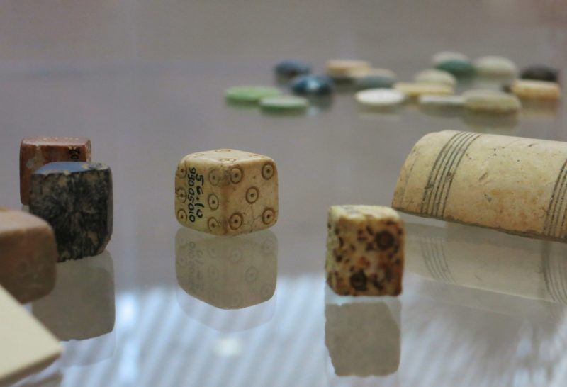 Bone Dice Archaeological Museum Puymin Vaison la Romaine