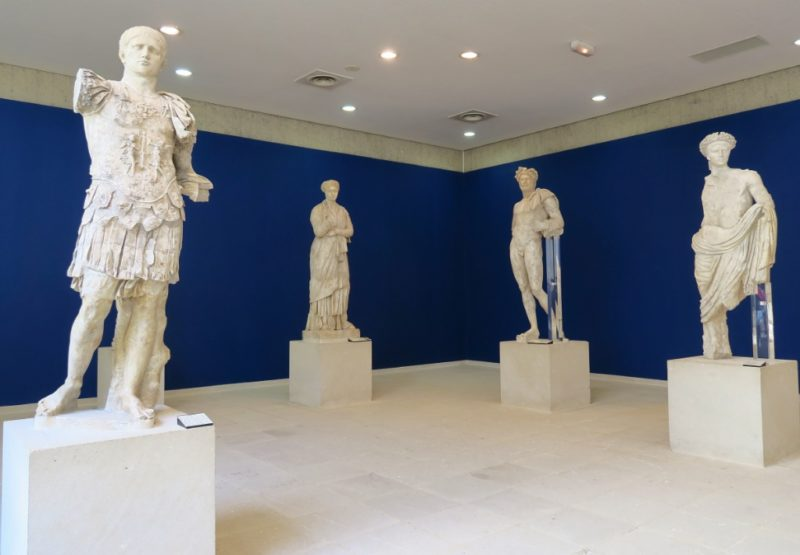 Marble Statues Archaeological Museum Puymin Vaison la Romaine