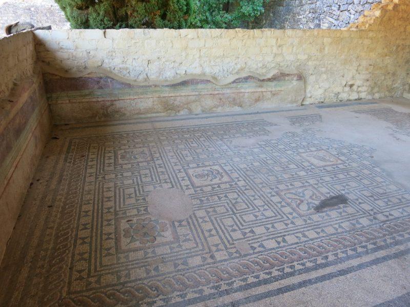 Mosaic Floor La Villasse Vaison la Romaine France