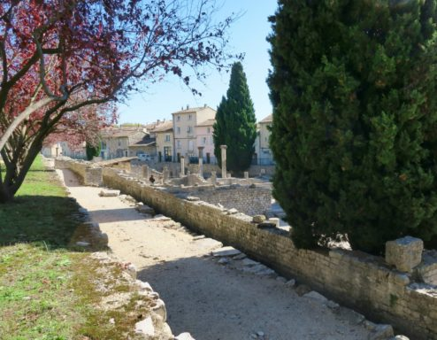 View of Puymin Vaison la Romaine