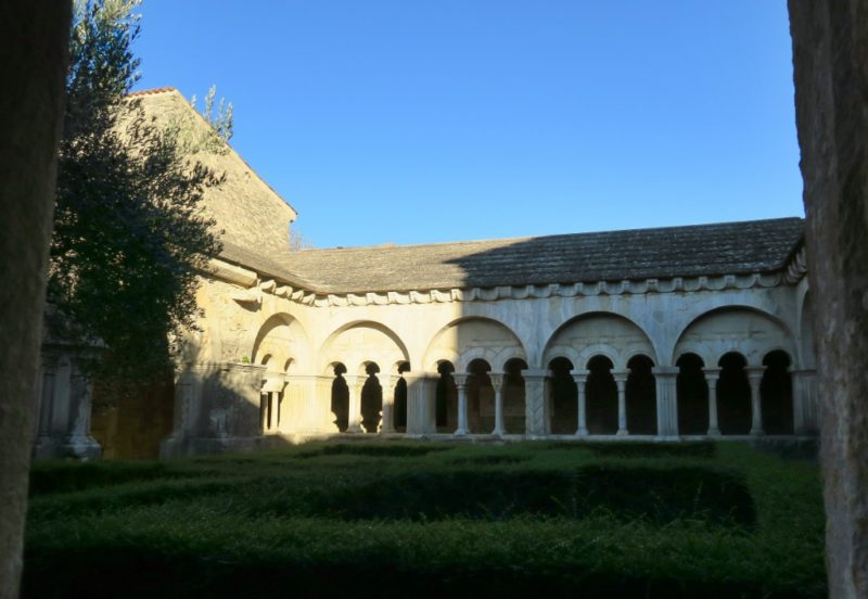 Cloister Courtyard Cathedral of Vaison la Romaine France