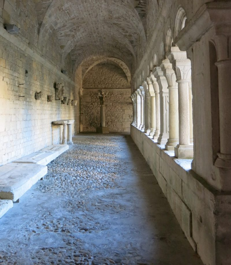 Cloister Gallery Cathedral of Vaison la Romaine France