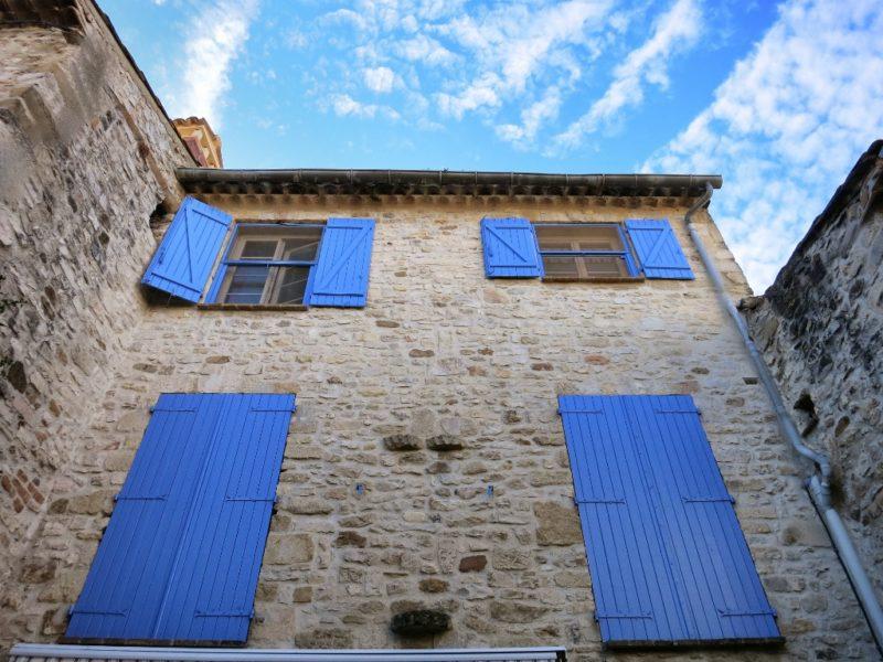 Colorful Shutters Vaison la Romaine France