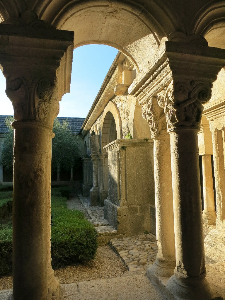Double Columns Cloister Cathedral of Vaison la Romaine France