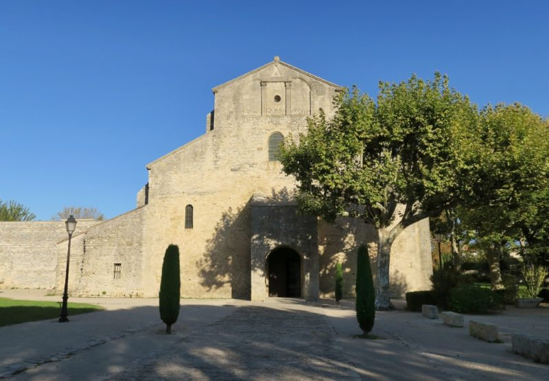 Exterior Cathedral of Vaison la Romaine France