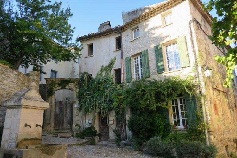 House and Fountain Vaison la Romaine France