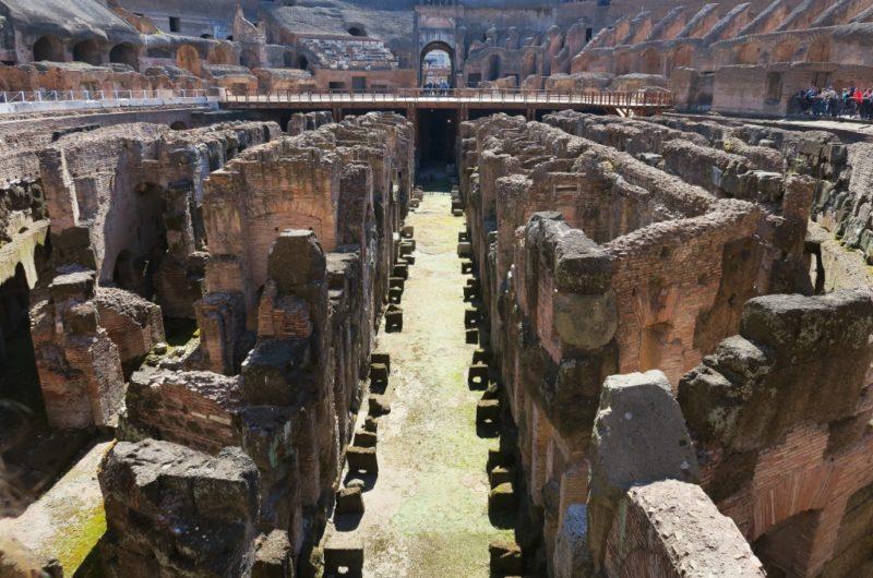 Hypogeum Colosseum Rome