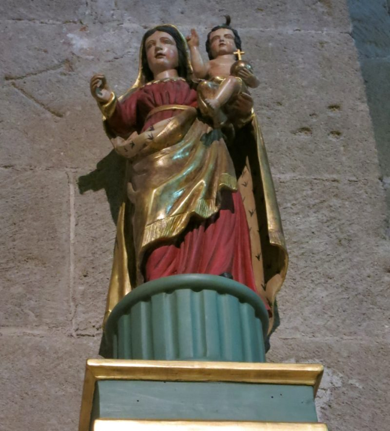 Madonna and Child Cathedral of Vaison la Romaine France