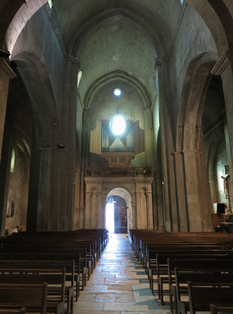 Main Entrance Interior Cathedral of Vaison la Romaine France