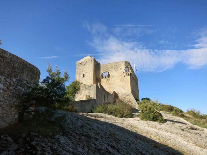 Medieval Castle Ruins Vaison la Romaine France