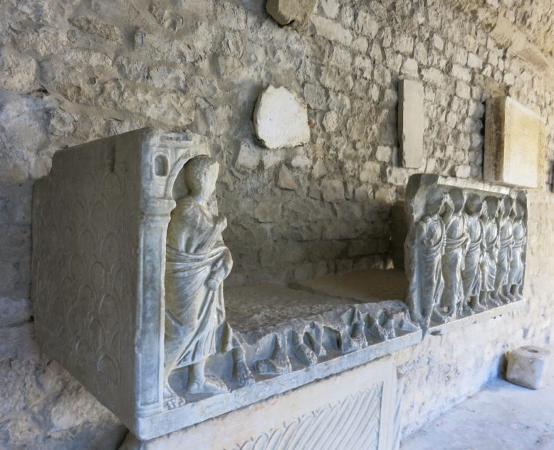 Sarcophagus Cathedral of Vaison la Romaine France