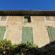 Shuttered House Vaison la Romaine France