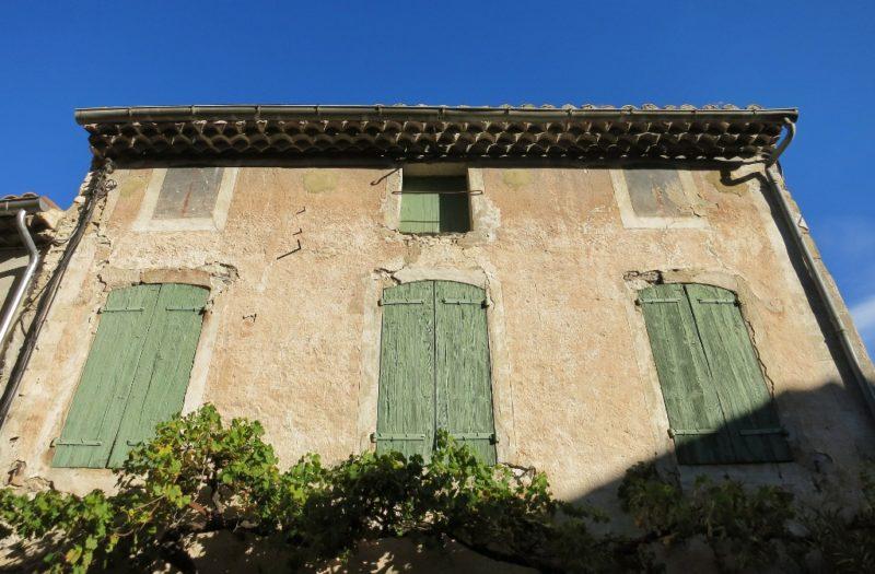 Shuttered House Vaison la Romaine France