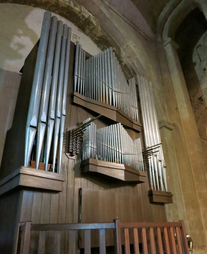 Side Organ Cathedral of Vaison la Romaine France