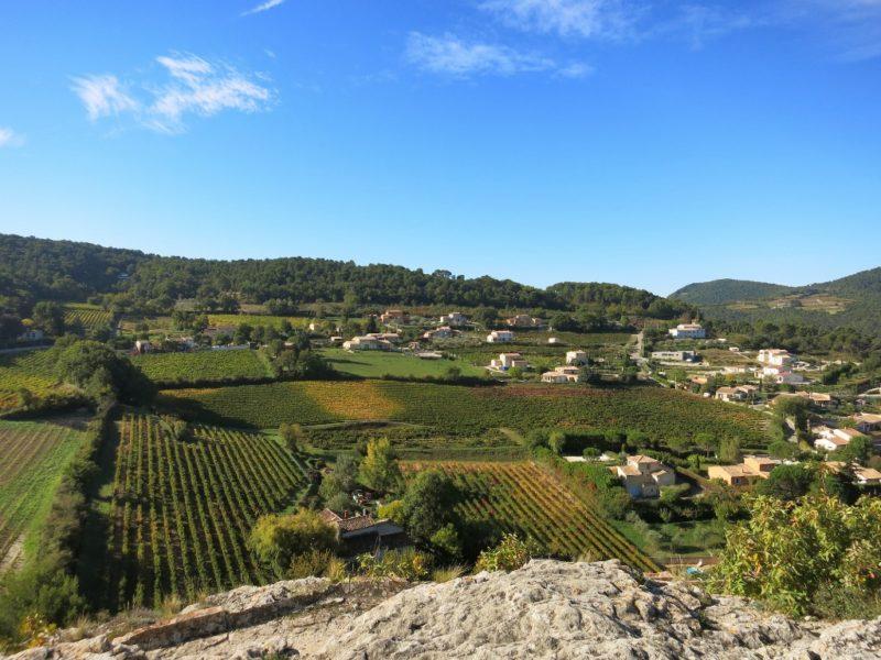 View from Castle Vaison la Romaine France