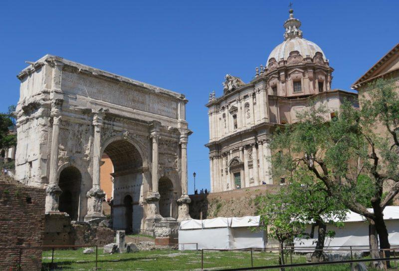 Arch of Septimius Severus Roman Forum Italy
