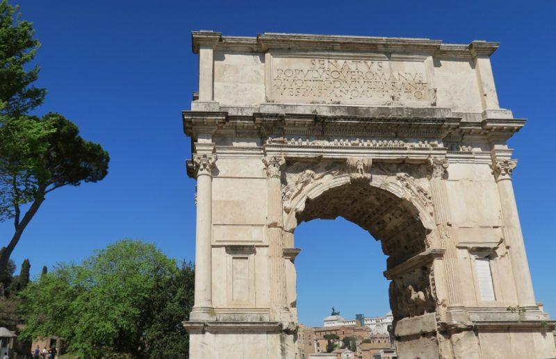 Arch of Titus Roman Forum Italy