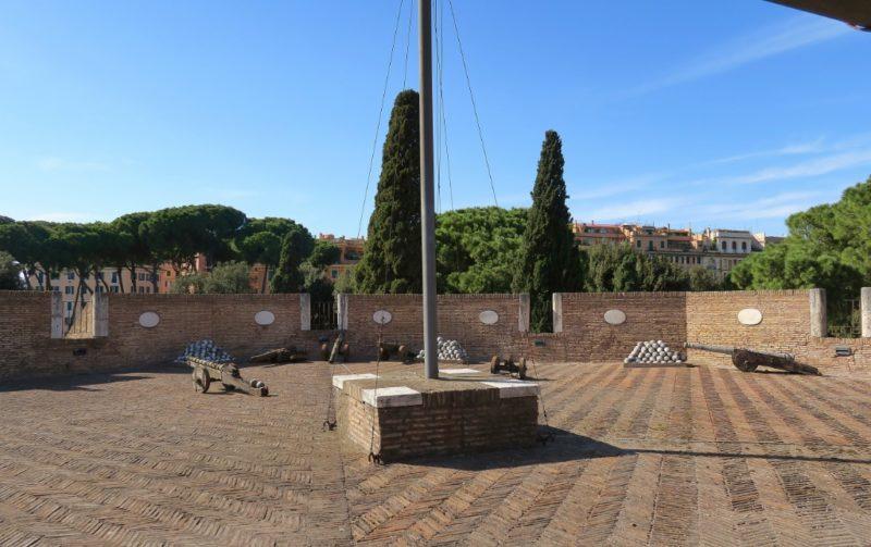 Bastion Terrace Castel Sant Angelo Rome Italy