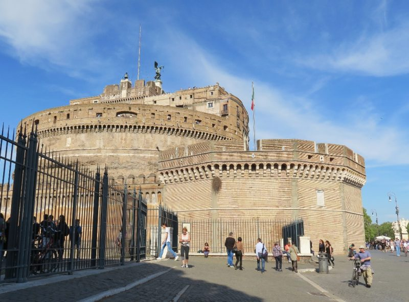 Castel Sant Angelo Exterior Rome Italy