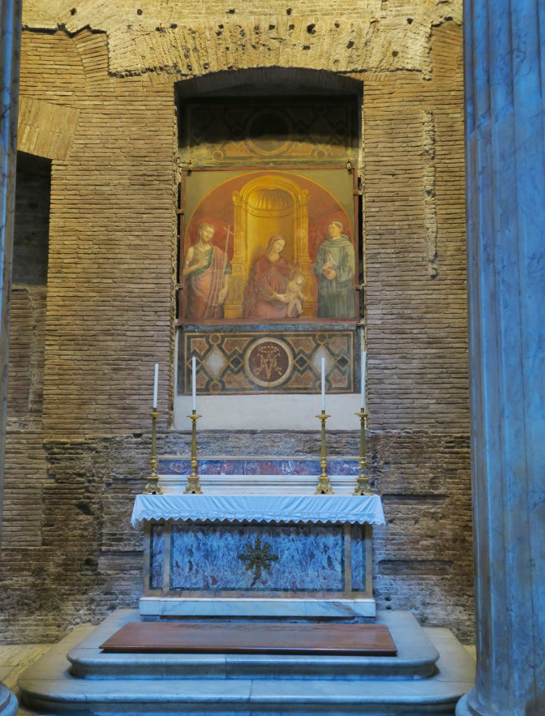 Chapel of Our Lady of Clemency Pantheon Rome Italy
