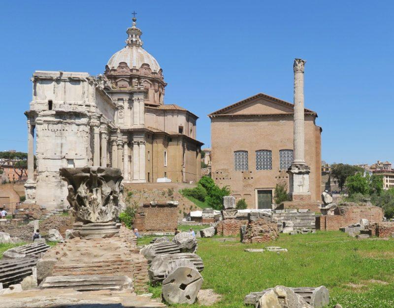Curia Julia Roman Forum Italy