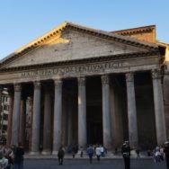 Exterior Pantheon Rome Italy