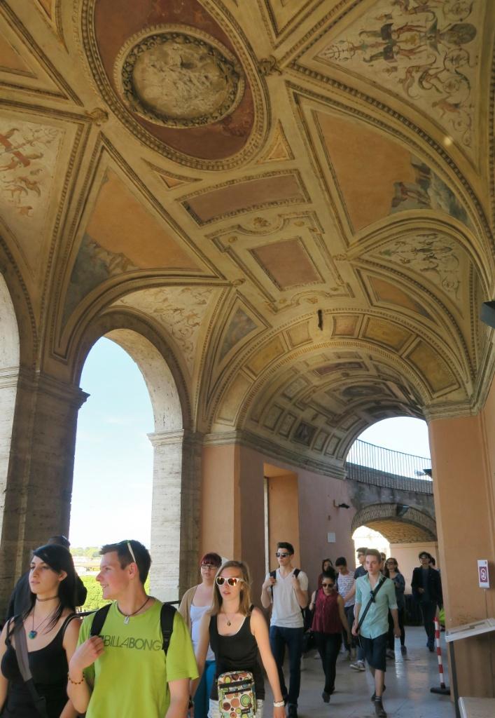 Loggia of Paul III Castel Sant Angelo Rome Italy