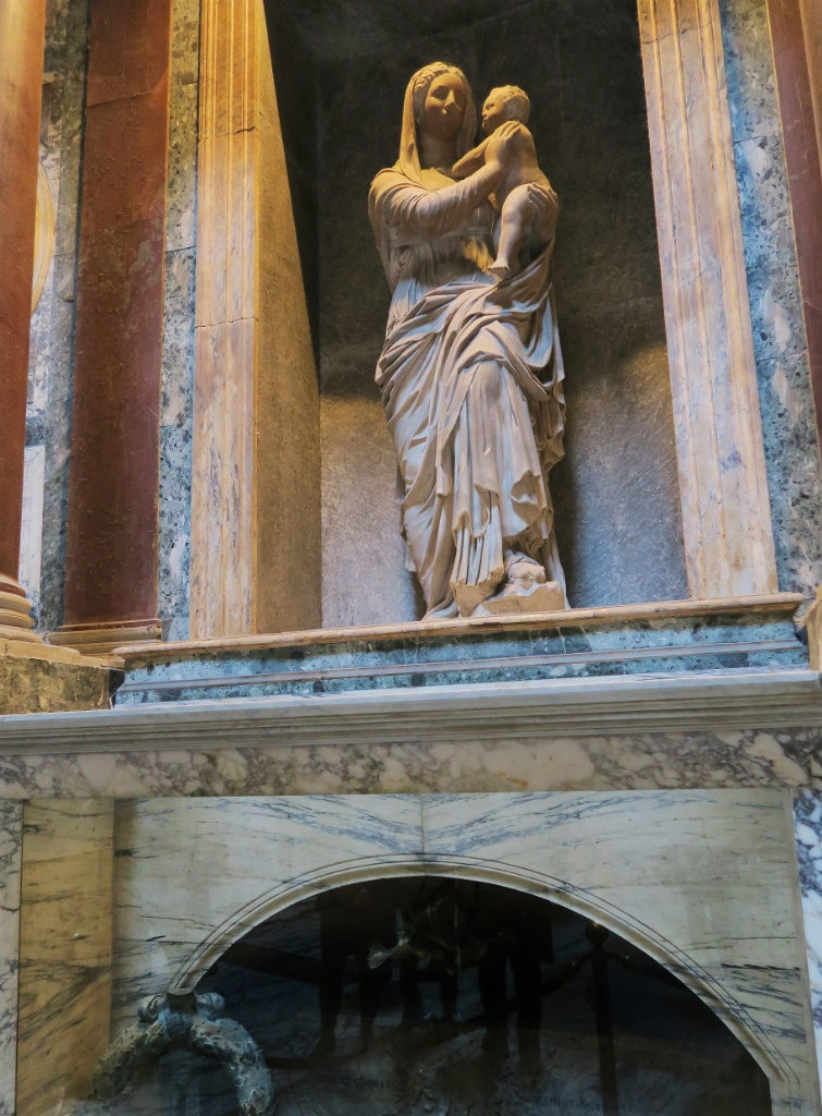 Madonna of the Rock Pantheon Rome Italy