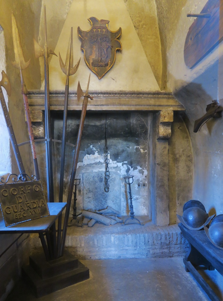 Medieval Weapons Castel Sant Angelo Rome Italy
