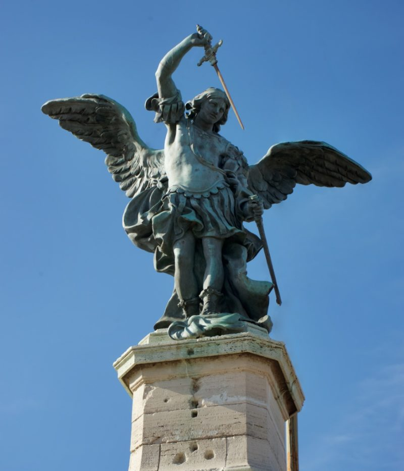 Michael the Archangel Castel Sant Angelo Rome Italy